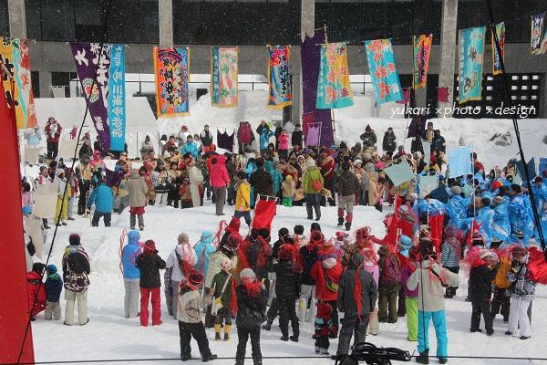 雪の運動会1